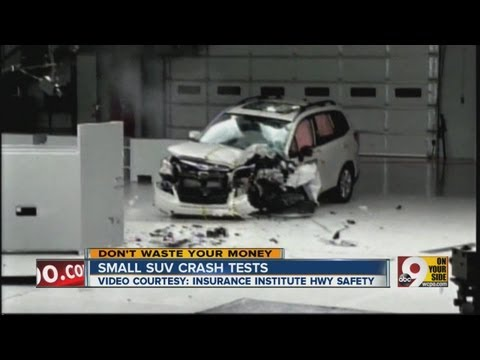 Small SUV crash tests