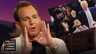 Why Did Will Arnett High Five Donald Trump?