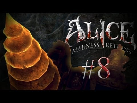 GREATEST BOSS BATTLE IN VIDEO GAME HISTORY! - Alice: Madness Returns - Part 8
