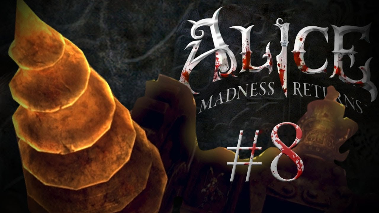 Pewdiepie plays Alice: The Madness Returns - Part 8