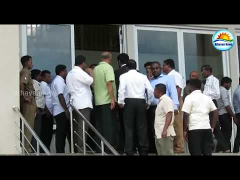 Former Minister Keheliya Rambukwella appeared in Jaffna court