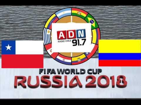 Chile VS Colombia 1-1 (Eliminatorias Mundial De Rusia 2018) - ADN Radio Chile 91.7