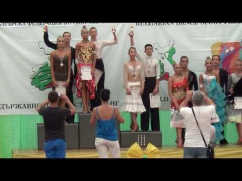 Alexander Georgiev and  Ventsislava Bormaliyska - 2013 Bulgarian's champions - Youth 10 dance