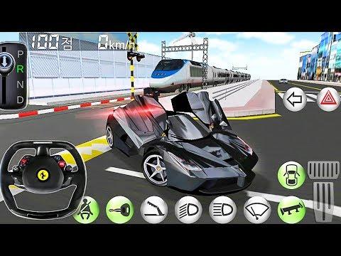 Car Driving Ferrari Simulator - Driver's License Examination Simulation - Best Android Gameplay
