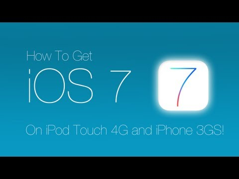 Get iOS 7 on iPod Touch 4G and iPhone 3GS! *FREE AND EASY!*