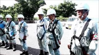 全国安全週間で石垣島で建設現場パトロール
