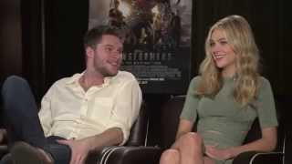 NICOLA PELTZ AND JACK REYNOR for TRANSFORMERS: AGE OF EXTINCTION