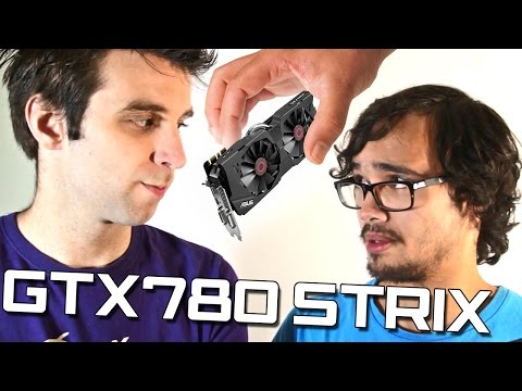 MONSTER videokaart!! Asus GTX780 STRIX #REVIEW