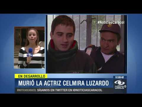 La farándula colombiana despide a la actriz Celmira Luzardo - 13 de Marzo de 2014