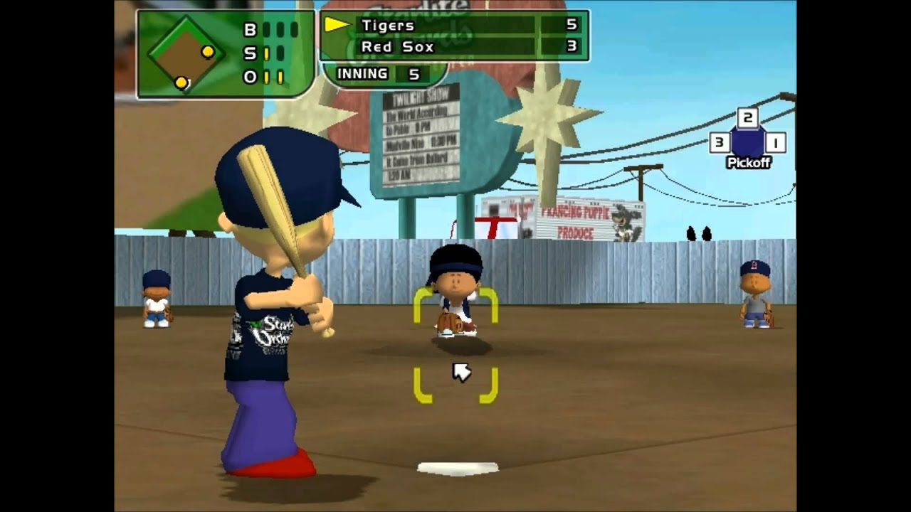 backyard baseball 2005 lets play vs tigers youtube