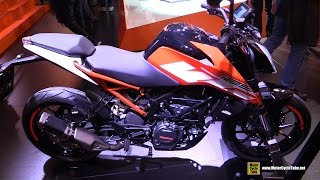 2017 KTM 125 Duke - Walkaround - Debut at 2016 EICMA Milan