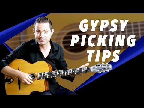 Gypsy Picking Tips - Developing The Right Hand In Gypsy Jazz - Gypsy Jazz Guitar Secrets