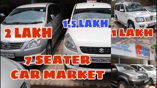 7 Seater Cars In Mumbai | Scorpio In 1L | Ertiga Upto 2L | Innova Upto 1L |  Fortuner Upto 2L |