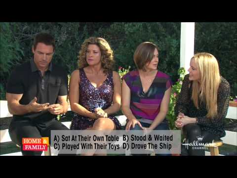 The Hallmark Channel's Home & Family show donate to Hunger Task Force!