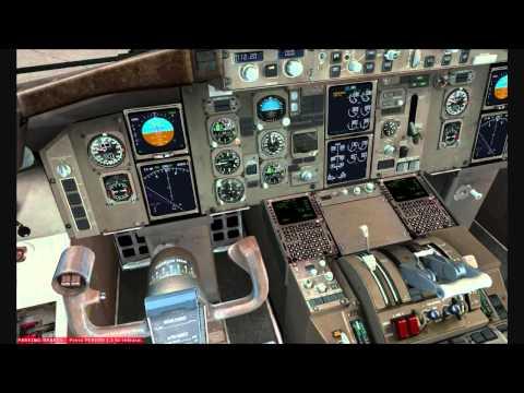 FSX Multi Crew Experience Captain Sim 757 KMCO Takeoff