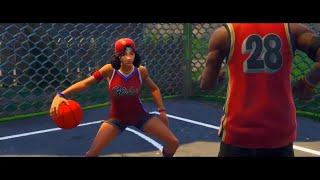 """FORTNITE """"BASKETBALL LOVE STORY """" SKITT."""
