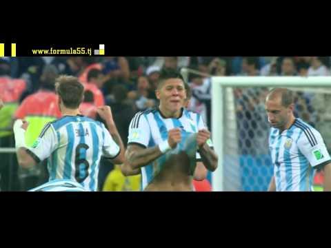 Аргентина vs Нидерланды. (1/2 Финал. Чемпионат мира 2014)
