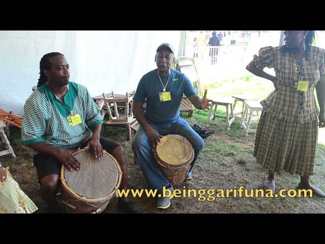 (Part 1) Garifuna Music and Dance Demonstration at 2013 Smithsonian FolkLife Festival