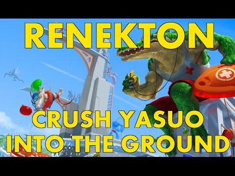 RANKED Renekton Top - Stomp Yasuo into the GROUND