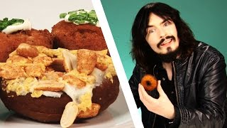 Irish People Taste Test Weird American Donuts