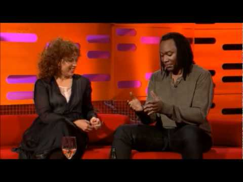 Alex Kingston on the Graham Norton Show 3.2.12 Part 2