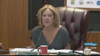 Ethics Commission Holds Hearing On Oha Trustee Rowena Akana