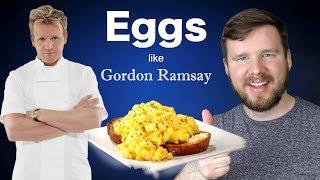 Attempting Gordon Ramsay's Scrambled Eggs