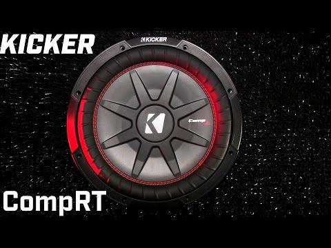 Kicker CompRT Shallow Subwoofer - 2016 New Model vs Old