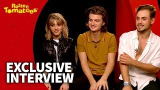 UNCUT Stranger Things 2 Interview - Demogorgon in the Front, Party in the Back for Netflix Stars
