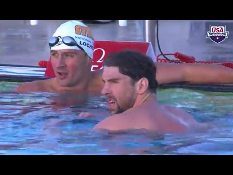 Michael Phelps VS Ryan Lochte 100 Fly Mesa Grand Prix 16.04.2015