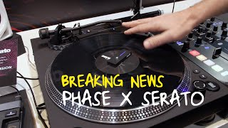 Phase Wireless Scratch System Working NATIVELY With Serato DJ Pro! - NAMM 2020