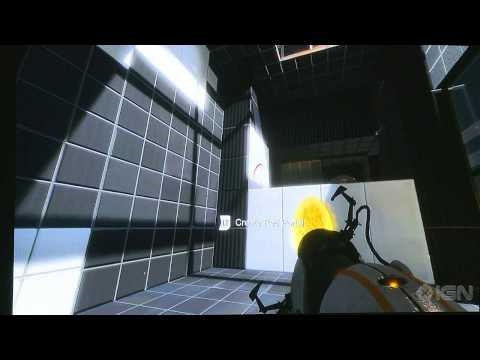 Portal 2 Co-Op Gameplay Part 1 - PAX 2010