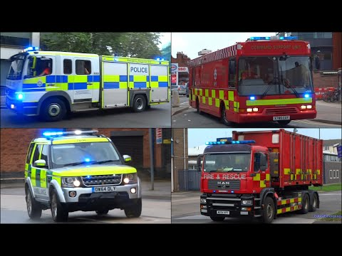 Police, Ambulances & Fire Trucks responding - BEST OF 2015 -