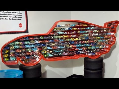 Huge Lightning McQueen Display Complete Collection Diecasts from Petersen Museum Disney Pixar