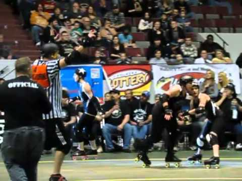 120 frames per second Roller Derby