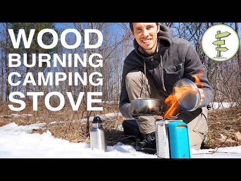 Portable Off-Grid Camping Stove: the BioLite CookStove