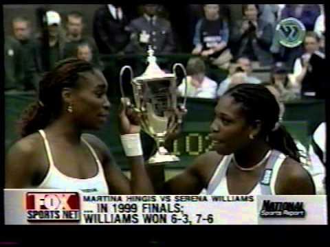 2001 US Open semifinal preview of Serena/Hingis (and Venus/Capriati)