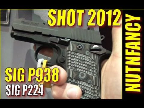 NUTNFANCY SHOT 2012: SIG P938 Win. P224 Lose