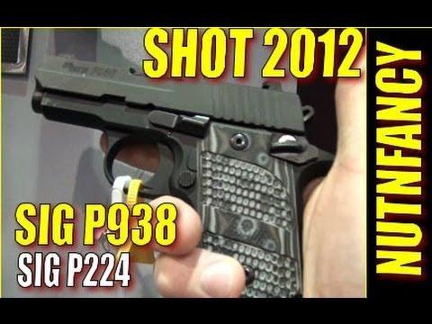NUTNFANCY SHOT 2012: SIG P938 Win. P224 Lose
