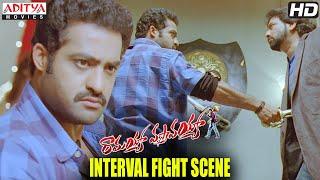 Ramayya Vasthavayya - Ramayya Vasthavayya Movie - Interval Fight Scene - Jr.NTR, Samantha, Shruti Hassan