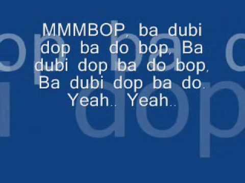 Hanson - Mmmbop (Lyrics) - YouTube