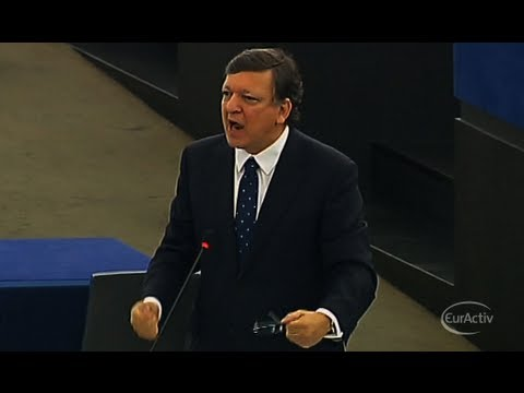 Barroso lashes out at British Conservatives in European Parliament