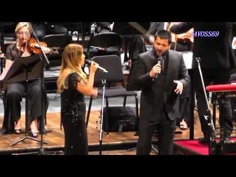 La Princesita Karina y Jorge Rojas cantaron juntos en el Teatro Colón