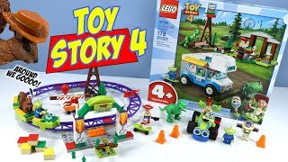 LEGO Juniors Toy Story 4 Sets Woody & RC Speed Builds 2019