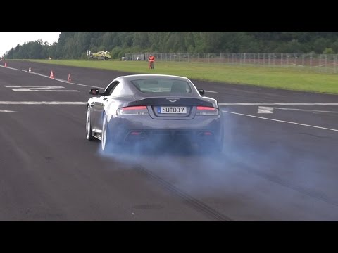 Aston Martin DBS w/ Loud SuperSprint Exhaust!
