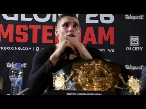 Glory 26 Amsterdam - Post Event Press Conference