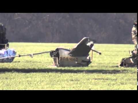 Ukrainian military helicopter MI-24 crashed in Kiev Region Today