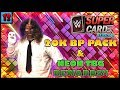 INSANE LUCK 20K BP PACK & NEON TBG REWARDS! ★ WWE SuperCard by @BasosySGYT