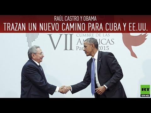 Histórico: Raúl Castro y Obama trazan un nuevo camino para Cuba y EE.UU.