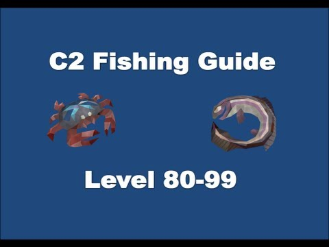 C2 Fishing Guide Runescape 2013 – 100K to 110K Fishing XP Per Hour [P2P only]